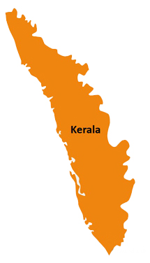 kerala-map-board - All India Results